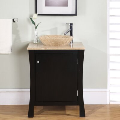 "Silkroad Exclusive Northampton 26"" Single Bathroom Vanity Set"