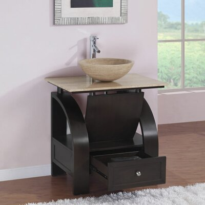 "Silkroad Exclusive Niagara 30"" Single Bathroom Vanity Set"