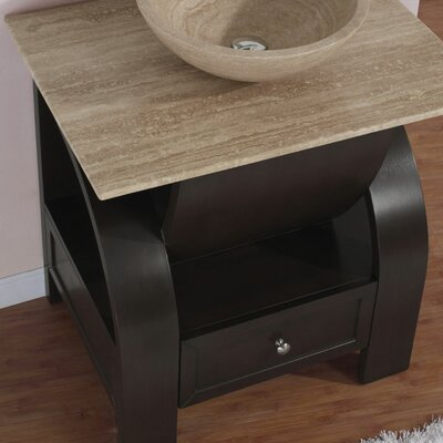 "Silkroad Exclusive 30"" Niagara Single Bathroom Vanity"