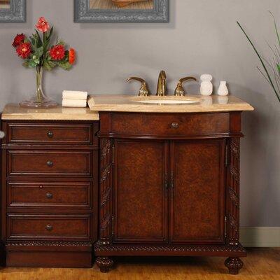 Silkroad exclusive victoria 52 single bathroom vanity set for Bathroom vanity sets for sale