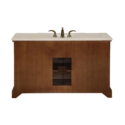 silkroad exclusive sabina 58 single sink bathroom vanity set