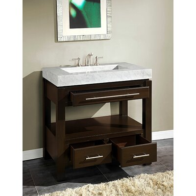 "Stanton 36"" Single Sink Cabinet Bathroom Vanity Set 