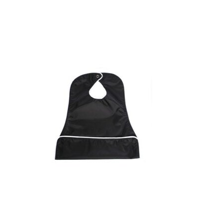 Neatnik Saucer Slide Bib in Black