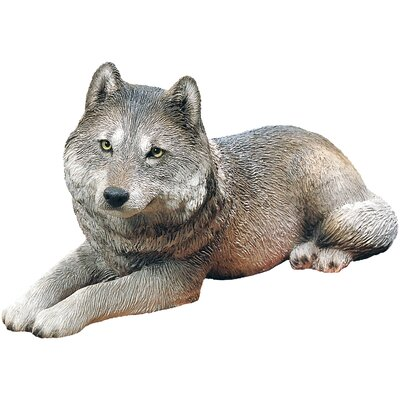 Original Size Gray Wolf Sculpture