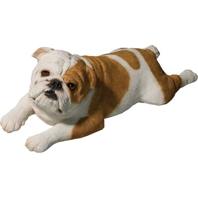 Original Size Bulldog Sculpture in Fawn