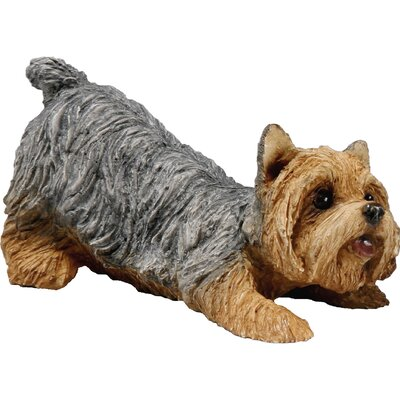 Small Size Yorkshire Terrier Sculpture