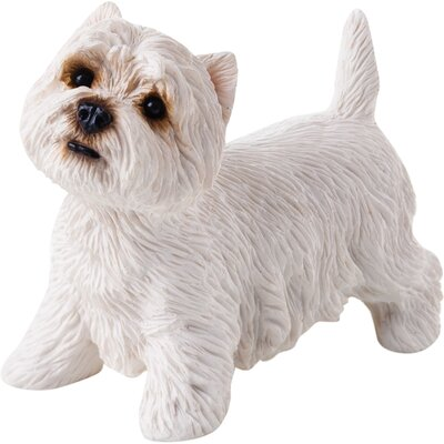 Sandicast Small Size West Highland White Terrier Sculpture