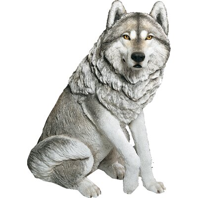 Life Size Large Wolf Sculpture