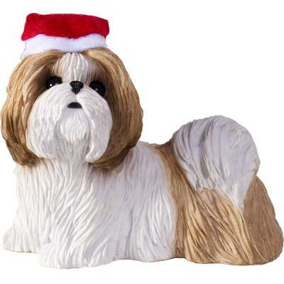 Sandicast Shih Tzu Christmas Tree Ornament