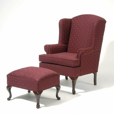 Wing Back Chair And Ottoman Wayfair