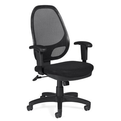 Offices To Go High-Back Mesh Managerial Chair