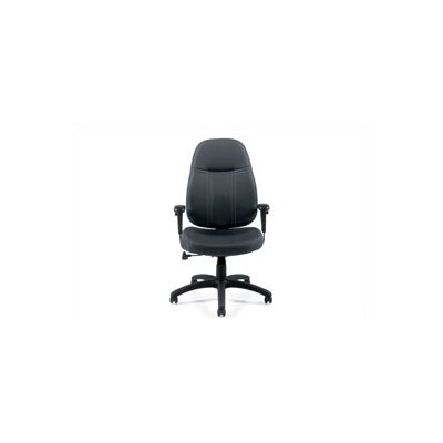 Offices To Go High-Back Fabric Office Chair with Arms