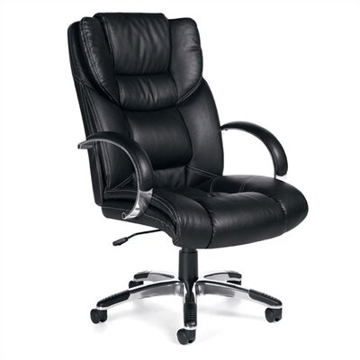 Offices To Go Soft High-Back Leather Executive Chair