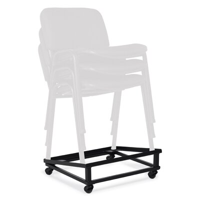 Offices To Go Stack and Guest Dolly for Arms and Armless Stack Chair