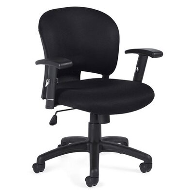 Offices To Go Low-Back Mesh Fabric Managerial Chair