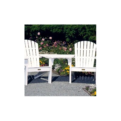 Seaside Casual Adirondack Tete-a-Tete Attachment Bistro Table