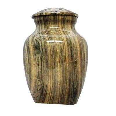 UrnsDirect2U Weathered Woody Aluminum Pet Urn