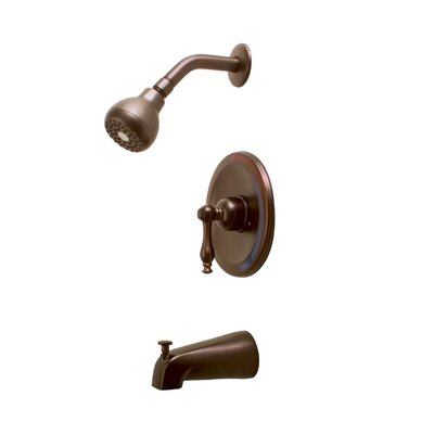 Premier Faucet Wellington Single Handle Diverter Tub and Shower Faucet
