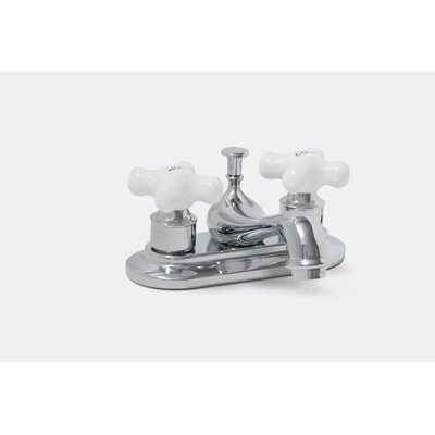 Premier Faucet Ashbury Centerset Bathroom Fauce twith Double Cross Handles