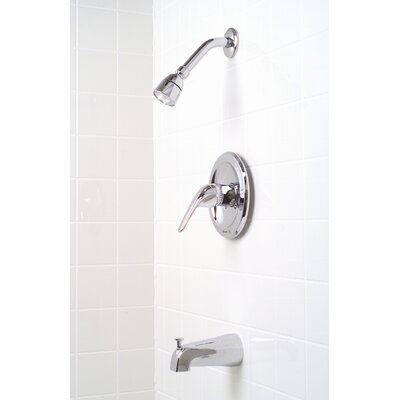 Premier Faucet Bayview Single Handle Diverter Tub and Shower Faucet