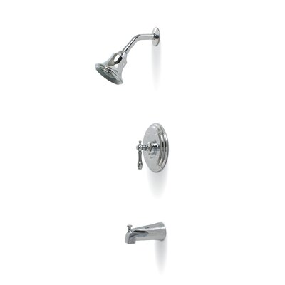 Premier Faucet Charlestown Single Handle Volume Control Tub and Shower Faucet