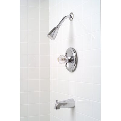 Premier Faucet Concord Single Handle Diverter Tub and Shower Faucet