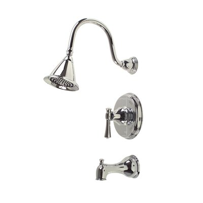 Premier Faucet Torino Single Handle Volume Control Tub and Shower Faucet