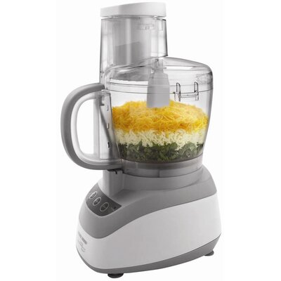 Black & Decker Wide Mouth Food Processor in White