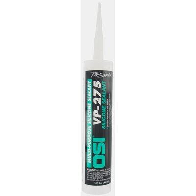 OSISealants 10.2 Oz Clear VP-275™ Multi Purpose 100% Silicone Sealant 1132271/