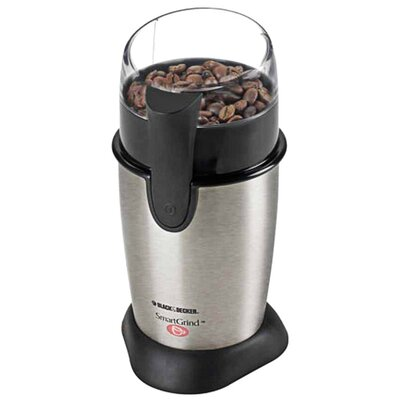 <strong>Black & Decker</strong> Stainless Steel Coffee Bean Grinder
