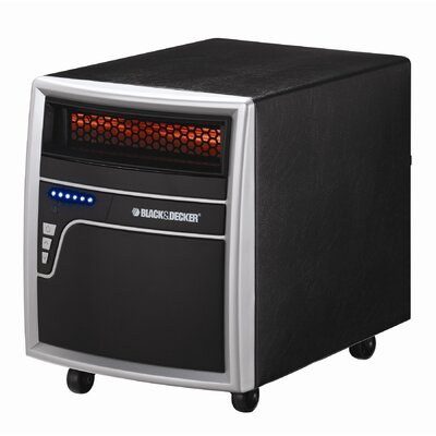 Black & Decker 1,000 Watt Infrared Cabinet Power Space Heater