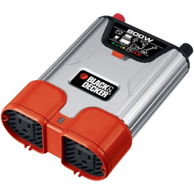 Black & Decker 800W Continuous Power Inverter