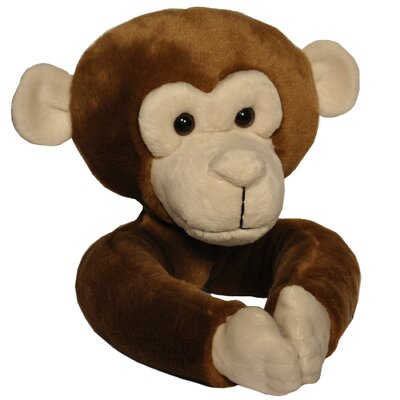 Curtain Critters Plush Chocolate Brown Monkey Curtain Tieback