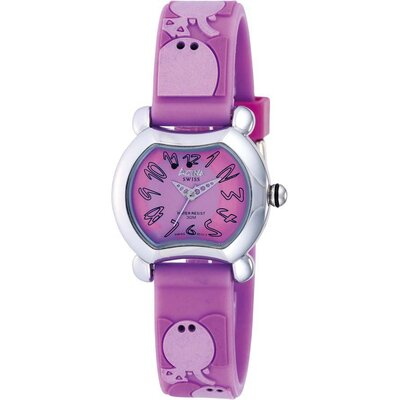 Juniors Elephant Design Watch in Lilac