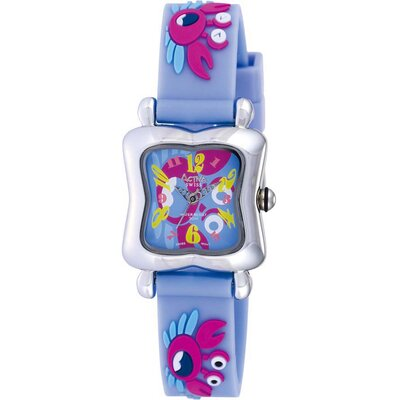 Juniors Crab Design Watch in Light Blue