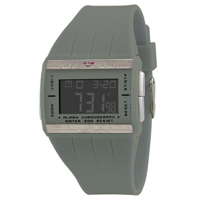 Activa Watches Women's Plastic Digital Multi-Function Watch in Gray