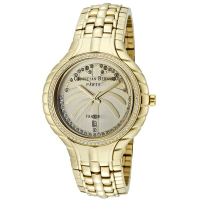Men's Golden Round Watch