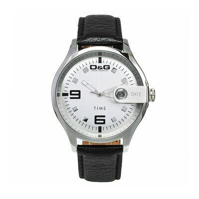 Men's Electrical Watch with Stainless Steel Case