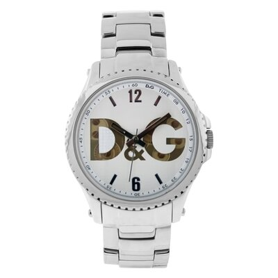 Dolce & Gabbana Sestriere D&G Women's Watch with White Dial