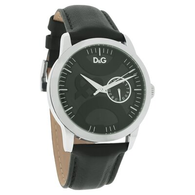 Dolce & Gabbana Women's Twin Tip Watch with Black Dial