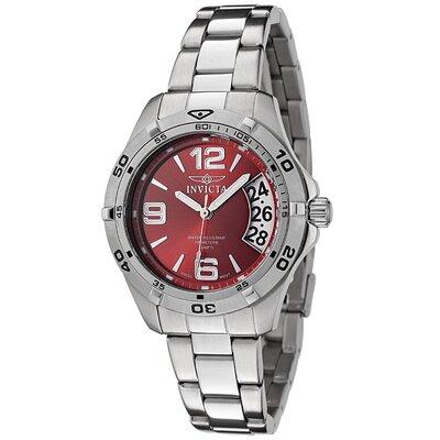 Women's II Sport Dial Stainless Steel Watch in Red