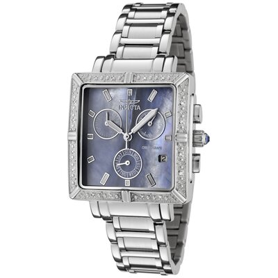 Women's Wildflower Chronograph Diamond Stainless Steel Watch