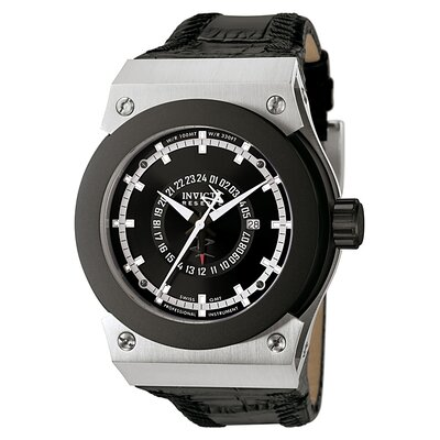 Men's Akula GMT Watch in Black