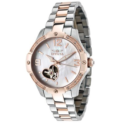 Invicta Women's Specialty Automatic Diamond Accented Round Watch