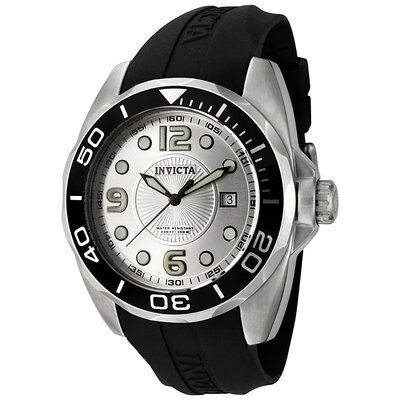 Men's Pro Diver Polyurethane Round Watch