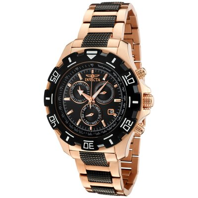Invicta Men's Specialty Chronograph Two Tone Round Watch