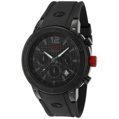 Men's Mission Chronograph Silicone Round Watch