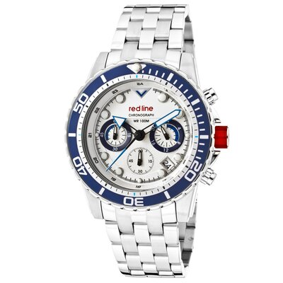 Men's Piston Chronograph Round Watch