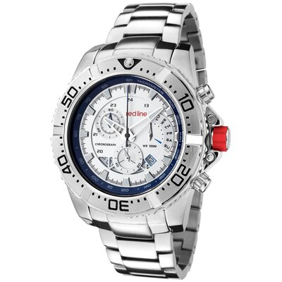 Men's Racer Chronograph Round Watch