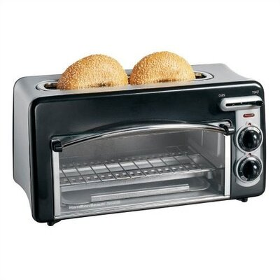 Toastation Toaster & Oven in Black